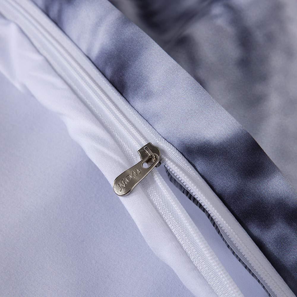 Linsaner Set Biancheria da Letto Coppia Lupo Copripiumino Copripiumino Federa per Camera da Letto per Bambini Adulti Genitori Come Regalo,150cmx200cm+2x48cmx74cm