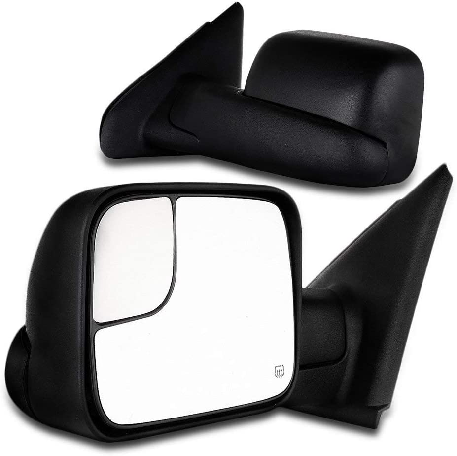 Dodge Towing Mirrors Pair Rear View Mirrors for 2009-2016 Dodge ...