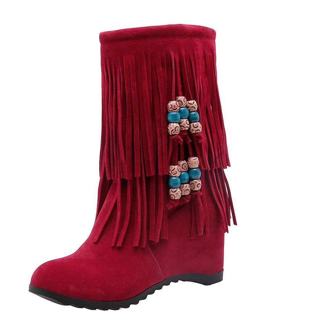 Funnygals Mid Calf Boots...