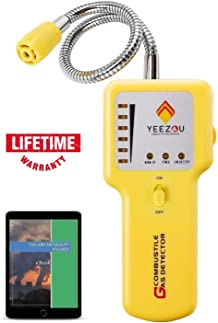 Portable Gas Sniffer to Locate Gas Leaks