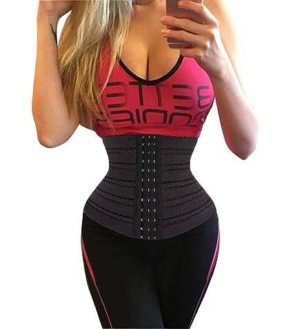 e3436633047 DODOING Body Trainer Corset Premium Woman Waist Cincher   Body Shaper All  Day  Amazon.in  Health   Personal Care