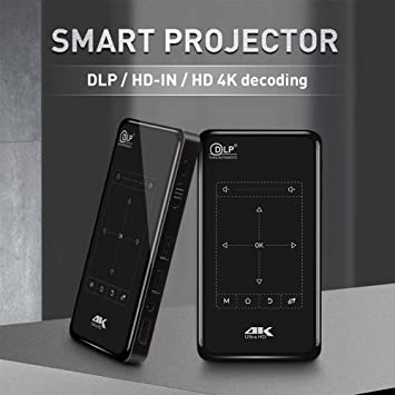 Amazon.com: Mini proyector, proyector de vídeo DLP ...