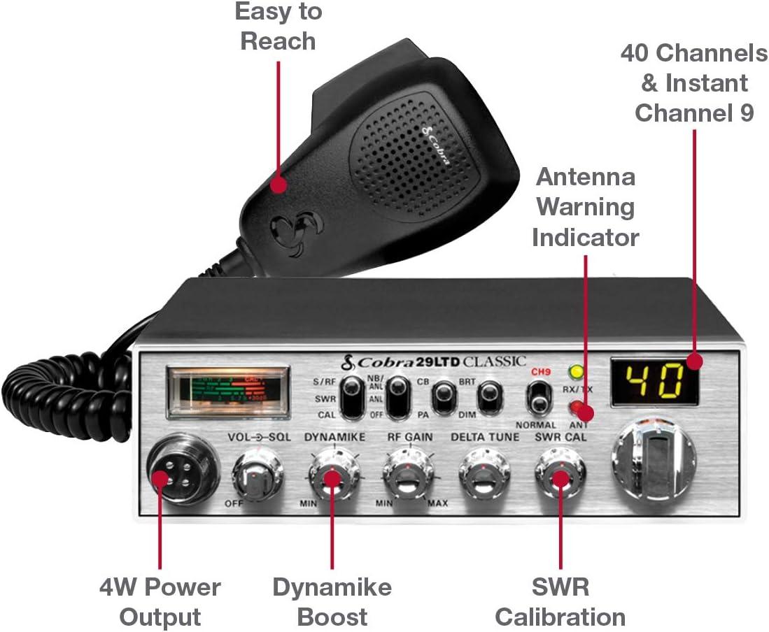 Cobra 29 Ltd Walkie Talkie 184 X 219 X 57 Mm Elektronik
