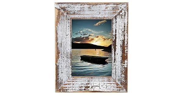 Mi casa de campo /Marco de cuadros / Naranja - 20 x 30 cm, madera, negro: Amazon.es: Hogar