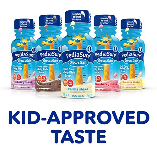 Pediasure Grow Amp Gain Nutrition Shake For Kids Vanilla 8