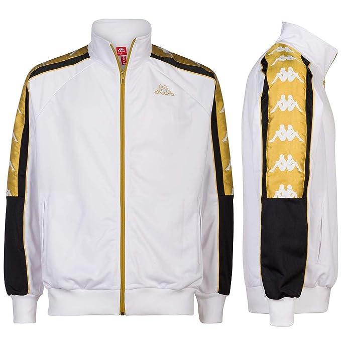 giacca kappa nera e oro