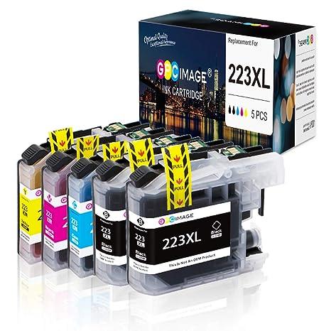 GPC Image Cartuchos de Tinta Compatible para Brother LC223 XL LC ...