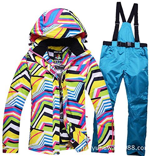 Del Colore Impermeabile Pantaloni Uomini Cerniera Cappotto Caldo Antivento Giacche Fym Sci Dyf Rivestimento 4 Donne nqEvIOvH
