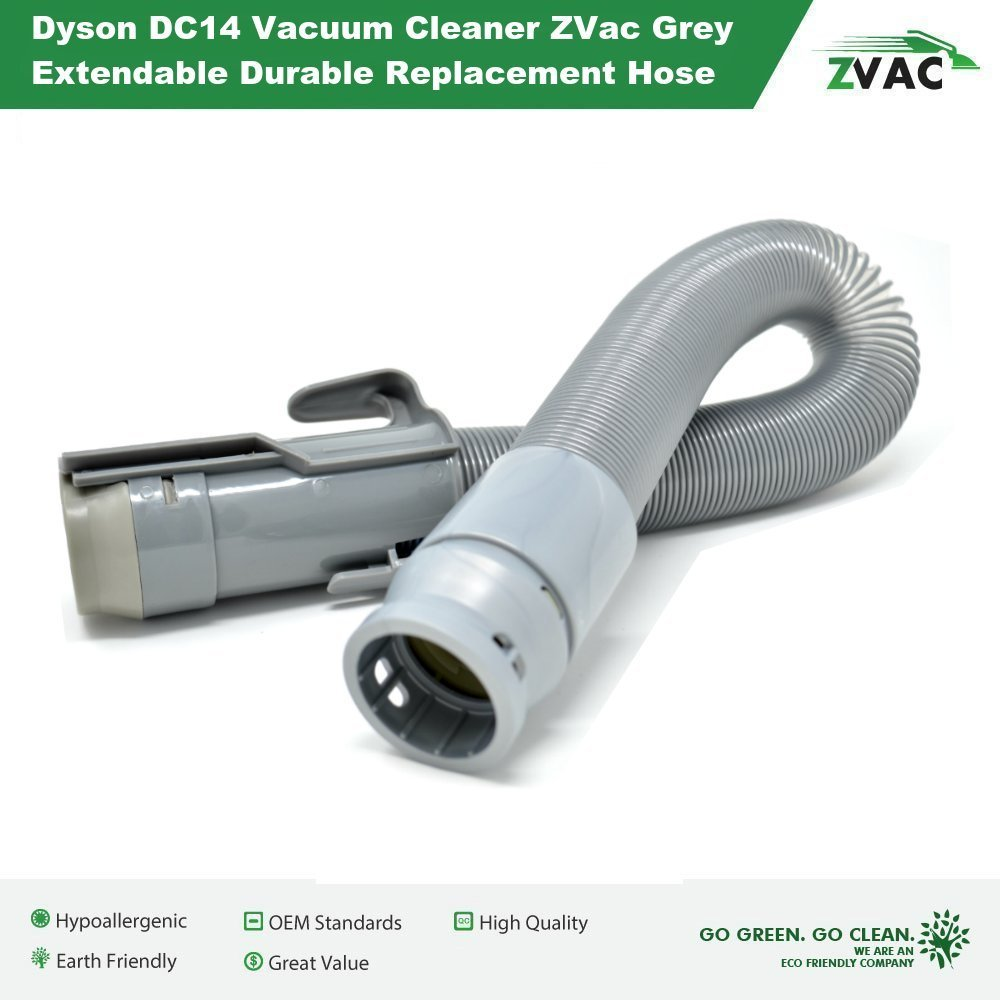 Amazon.com: Dyson DC14 Vacuum Cleaner ZVac Grey Extendable Durable Replacement  Hose 908474-37, 908474-01: Home Improvement