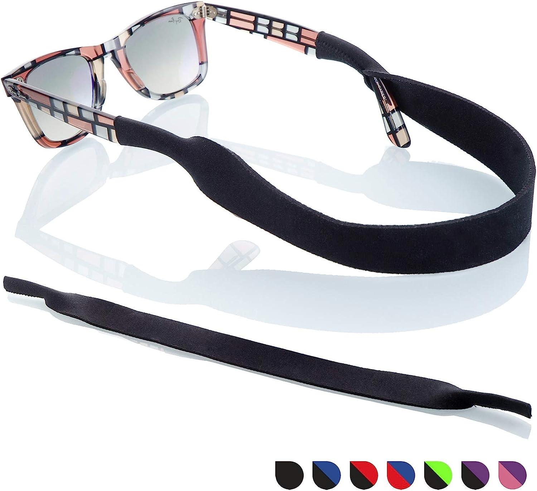 Sunglasses Glasses Strap - 2 Pack Sport Eyewear Retainer - Anti slip Fast Drying - Fits All