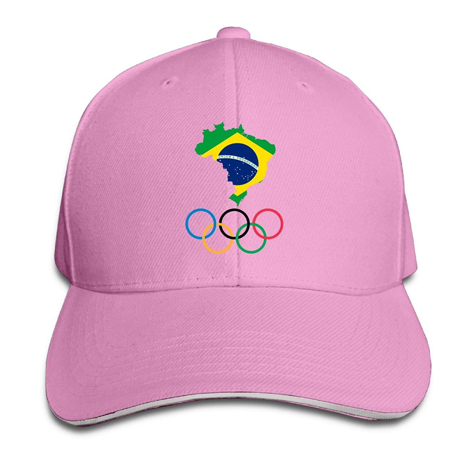 MYDT1 2016 Brazil Rio De Janeiro Olympic Games Outdoor Sandwich Peaked Caps Hats For Unisex
