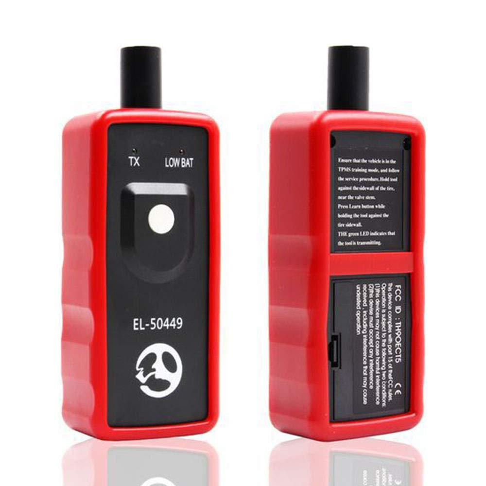 Sensor de presi/ón de los neum/áticos de Coche TPMS Herramienta de activaci/ón de reinicio para Ford Asdomo