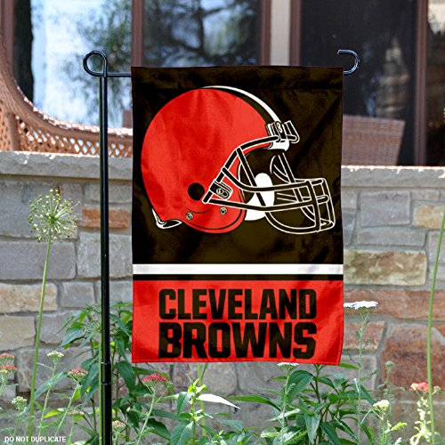 WinCraft Cleveland Browns Double Sided Garden Flag
