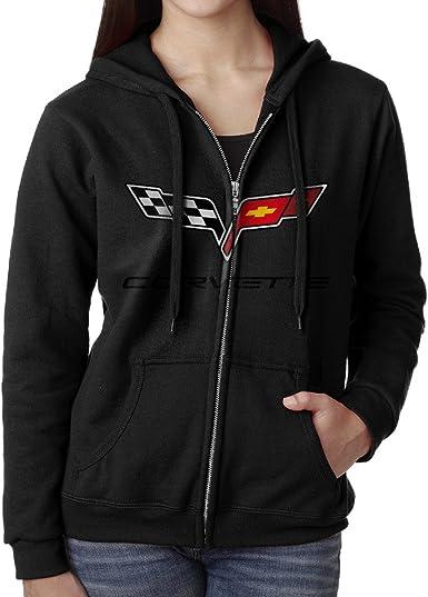 WheelSpinAddict Mens C4 Corvette American Muscle Hoodie