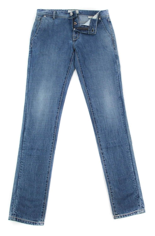 New Luigi Borrelli Denim Blue Jeans - Super Slim - 31/47