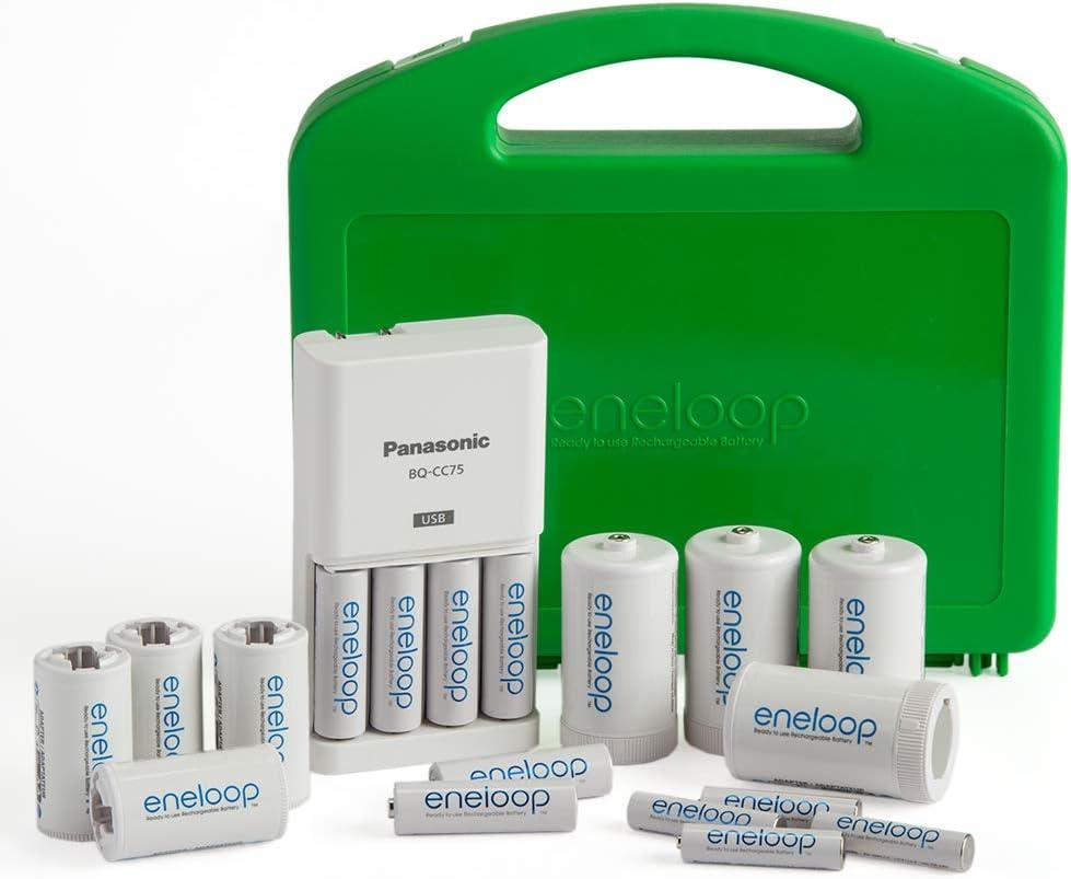 Amazon.com: Panasonic K-KJ75MC64ZA Eneloop Power Pack 6AA ...