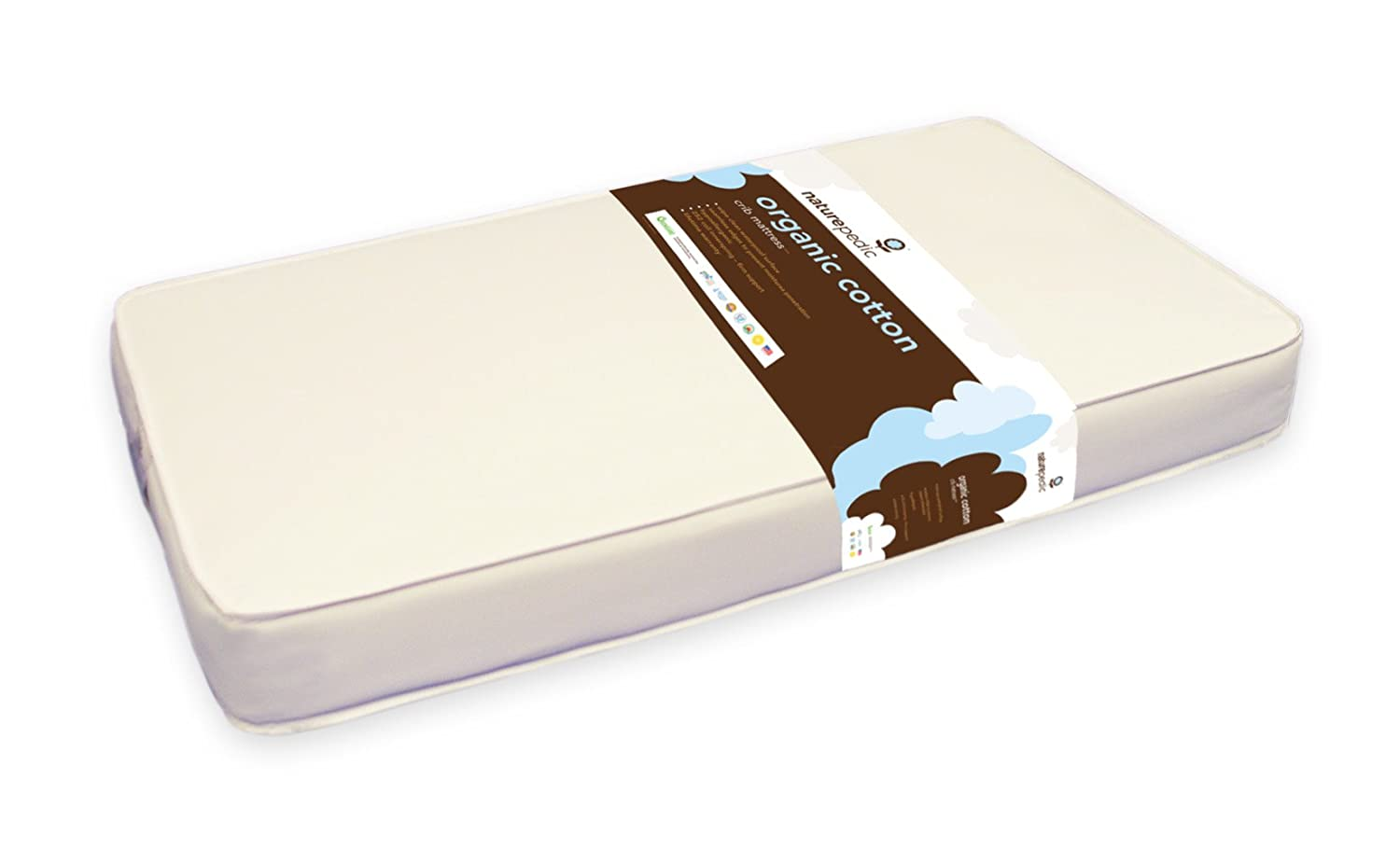 Amazon.com: Naturepedic No Compromise Organic Cotton Classic Crib Mattress:  Baby - Amazon.com: Naturepedic No Compromise Organic Cotton Classic Crib