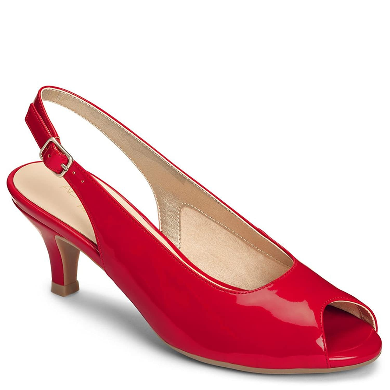 1940s Womens Shoe Styles Aerosoles Womens Escapade Dress Pump $79.00 AT vintagedancer.com