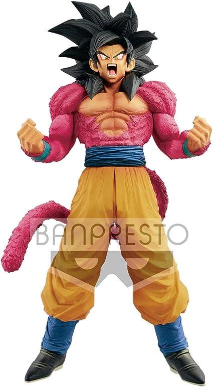 Dragon Ball GT Super Master Stars Piece The Super Saiyan 4 Son Goku Brush Figure