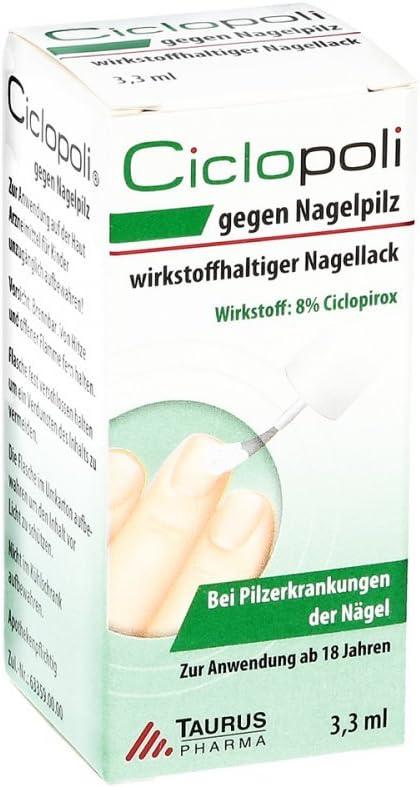 Mittel gegen Nagelpilz Nagellack Behandlung