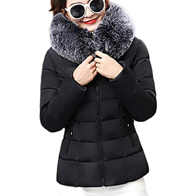 Amazon.com: Amiley Parkas - Abrigo de invierno para mujer ...