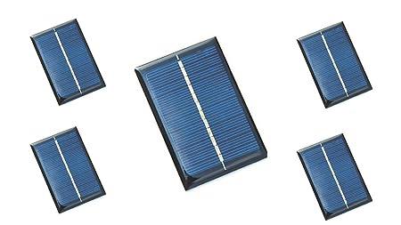 6V 100mA Solar Panel (Pack of 5)
