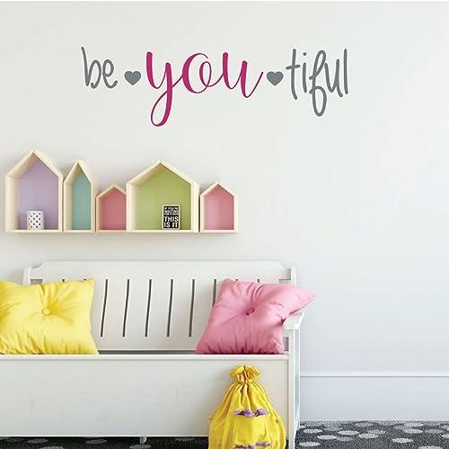 Amazon.com: Farmhouse Wall Decor For Girl\'s Bedroom Decor - Be You ...