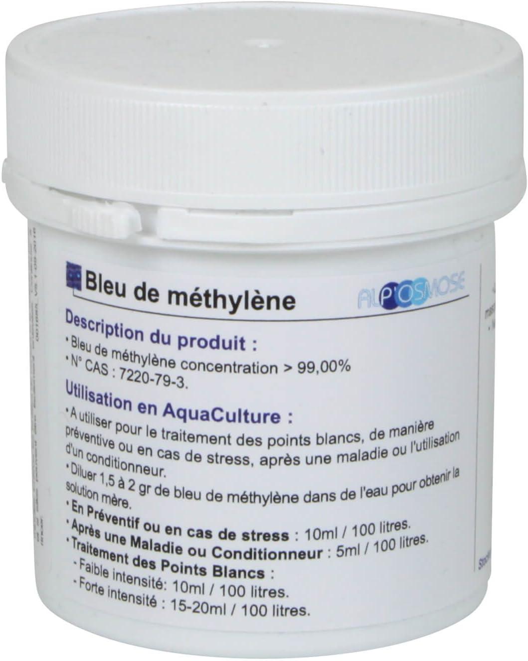 Azul de metileno, tarro de 30g.