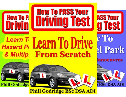 How To Pass Your Driving Test (3 Book Series)