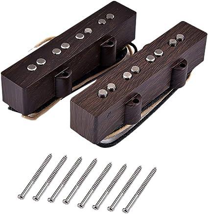 Healifty Pastillas de guitarra de 4 cuerdas Pastilla Humbucker con ...