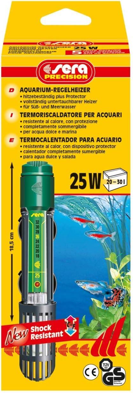 Sera Termoriscaldatori per Acquario - 25 Watt