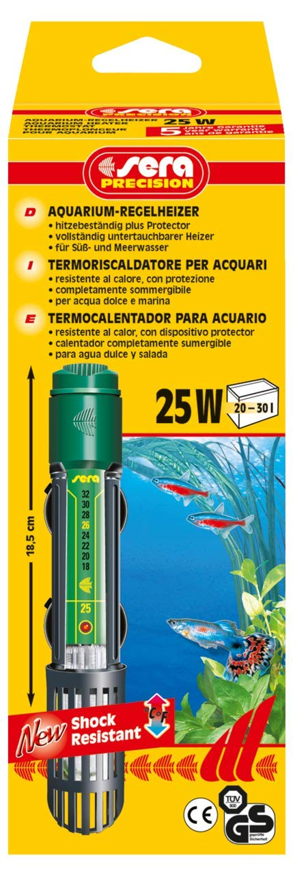 Calentador acuario agua fria