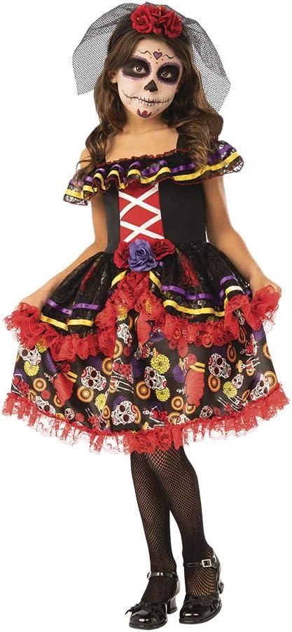 Dia de los Muertos- Catrina Disfraz Catrinita De Luxe Inf (Rubies 700895-M)