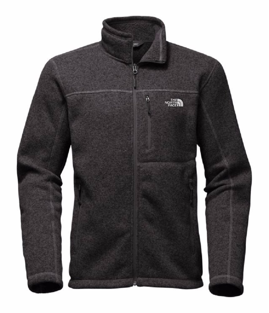 The North Face Men's Gordon Lyons Full Zip - TNF Black Heather - 3XL by The North Face