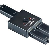 HDMI Switch 4K HDMI Splitter, BENFEI HDMI Switcher 2 Input 1 Output, HDMI Switch Splitter 2 x 1/1 x 2. Supports 4K 3D HD…