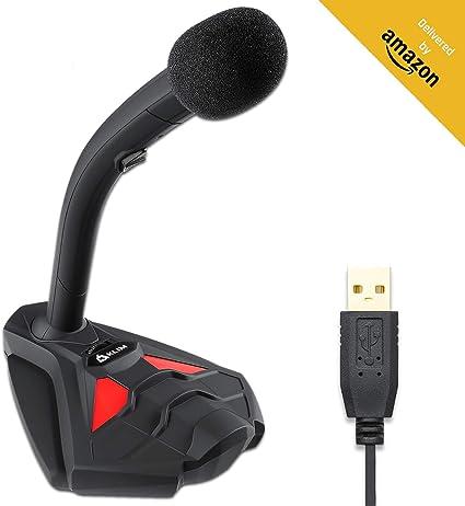 KLIM™ Voice V2 + Micrófono USB de Escritorio + Nuevo 2020 + Óptima ...