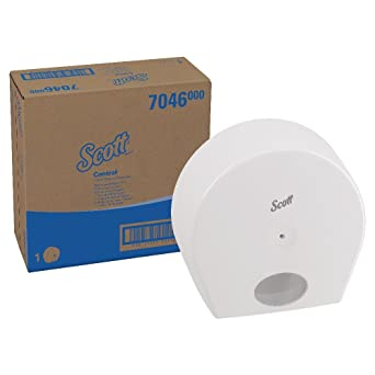 SCOTT* CONTROL Dispensador de Papel Higiénico 7046 - Blanco