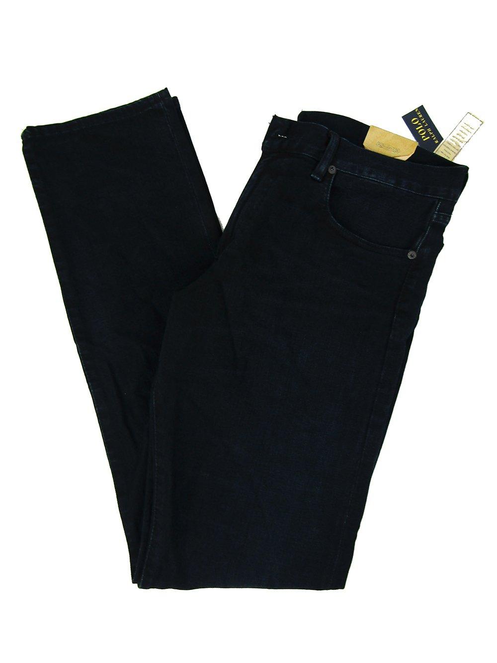 Polo Ralph Lauren Men's Varick Slim-Straight Stretch Jeans (34W X 34L, Newton)