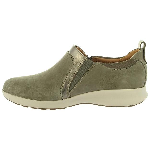 Clarks Un Adorn Zip, Mocasines para Mujer: Amazon.es: Zapatos y complementos