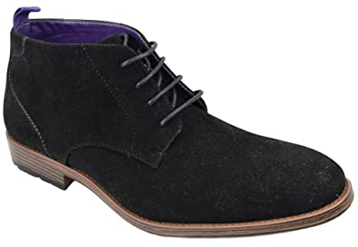 945f626799254 Men's Shoes Dress Semi Formal Lace Up Casual Half Boots Oxfords High Top  ARIDER ANDREW-01