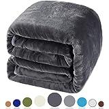 Balichun Queen Size Soft Blanket,Super Warm,Luxury,Lightweight,Fuzzy,Fleece Blanket All Season for Couch,Sofa,Bed…