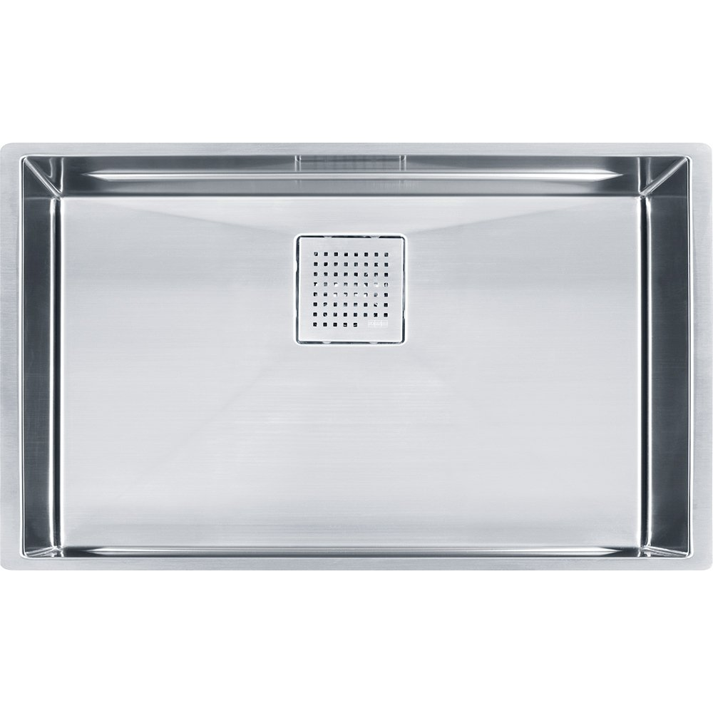 Franke PKX11028 Peak 16-Inch x 27-Inch Single Bowl Undermount Kitchen Sink by Franke by Franke