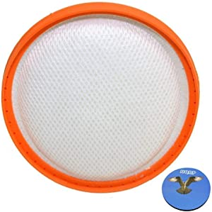 HQRP Washable Pre-Motor HEPA Filter for Vax Power 6 C89-P6N-P / C89-P6N-T / C89-P6N-R Pet Cylinder Vacuum Cleaner Plus Coaster
