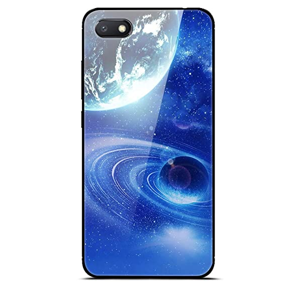 huge selection of f6d66 81e7f Amazon.com: Xiaomi Redmi 6A Case,[Tempered Glass] Back Cover ...