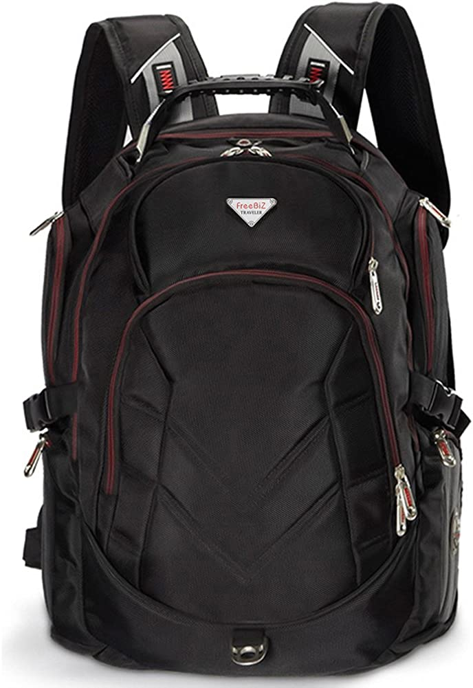 Laptop Backpack 19 Inch, Gaming Laptops Back Pack for 19.5,18, 18.4 Macbook Notebook Computer