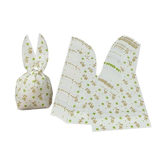 Gazechimp 50 Unids Bolsas de Plástico Conejo Pato Lindo ...