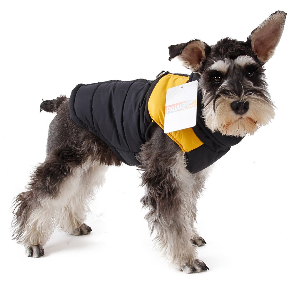 PAWZ Road Pet Clothes for Small Medium and Large Dogs Winter Warm Vest Jacket Easy On//Off Blue 4L