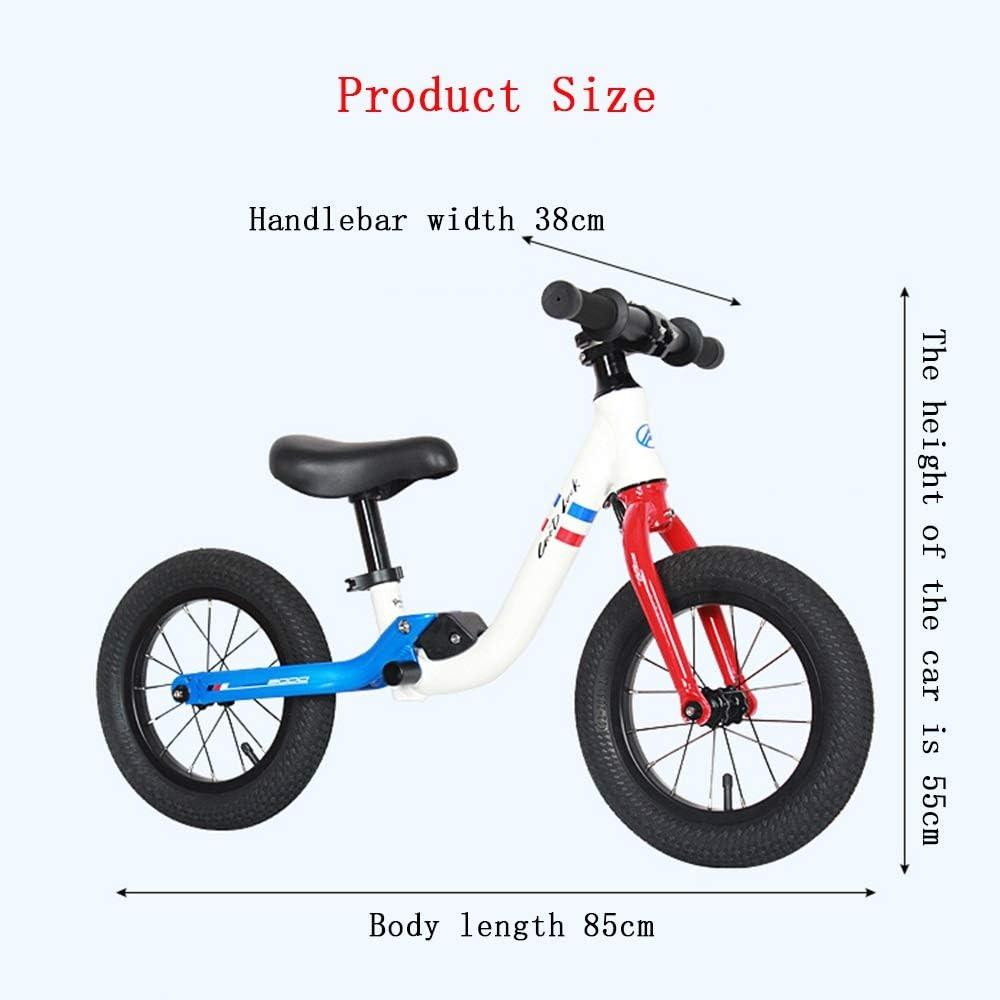 Bicicletas sin pedales Bicicletas De Equilibrio, Niños De Equilibrio Coche De 3-6 Años para Niños (Color : B): Amazon.es: Hogar