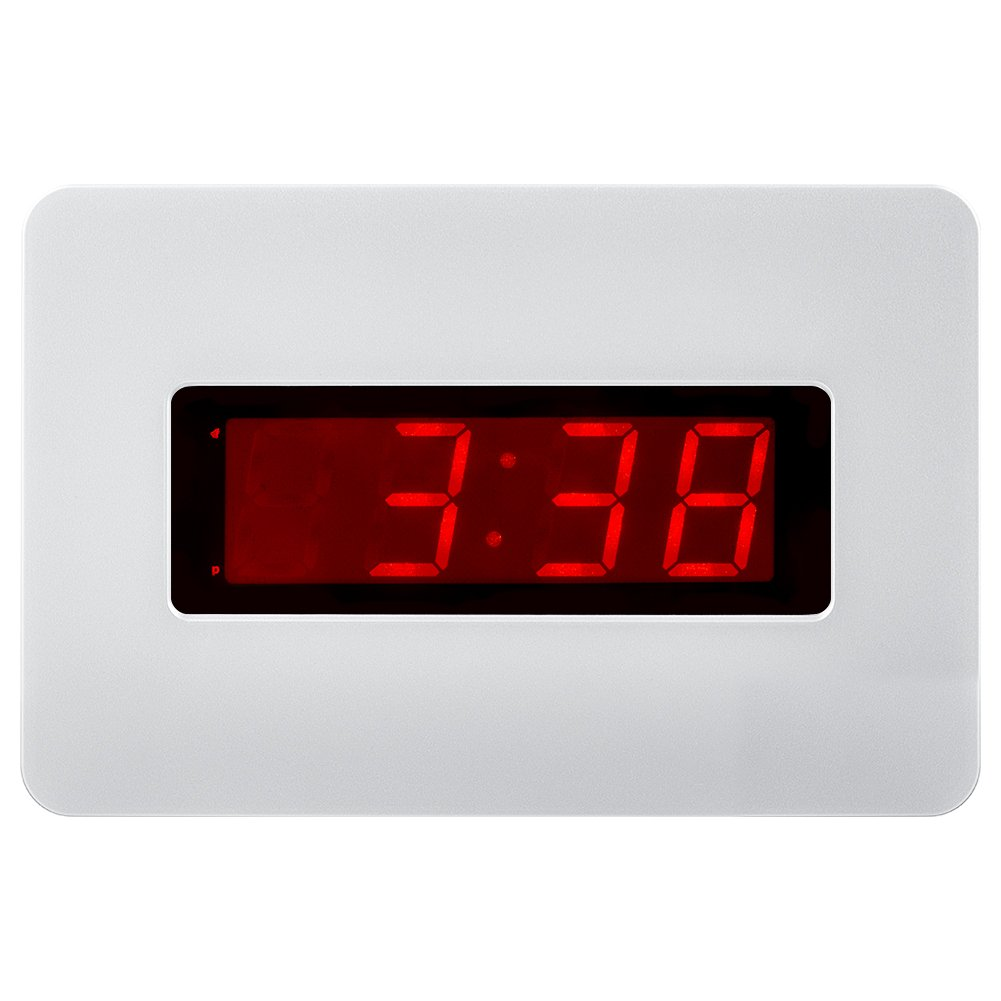 Amazon kwanwa electric wall clock battery operated only with amazon kwanwa electric wall clock battery operated only with big 14 red led numbers displayplace it anywhere without a cumbersome cord home audio amipublicfo Gallery
