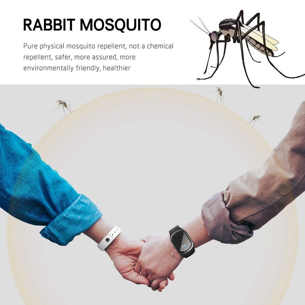 /étanche avec USB Rechagerable pour b/éb/és Enfants et Adultes Non Toxique et /électronique Anti-moustiques Goglor Bracelet r/épulsif /à ultrasons Anti-moustiques pour lext/érieur